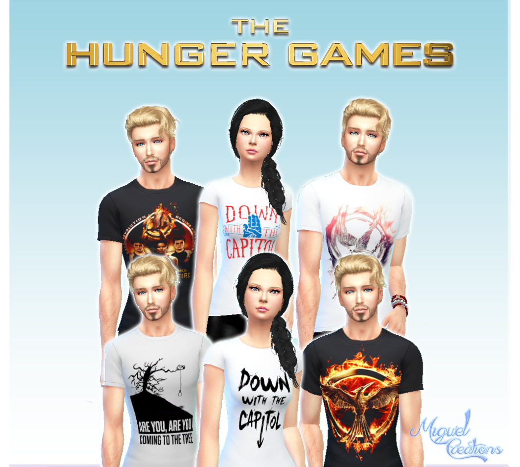 Victor Miguel-Shirts The Hunger Games - Unissex