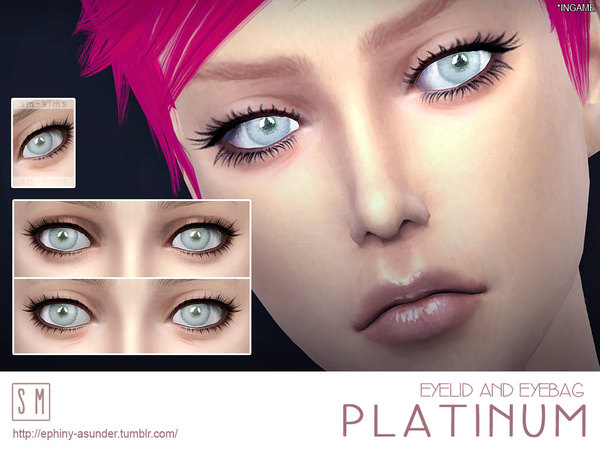 [ Platinum ] - Eyelid and Eyebag by Screaming Mustard