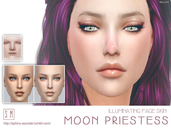 [ Moon Priestess ] - Illuminating Face Skin by Screaming Mustard