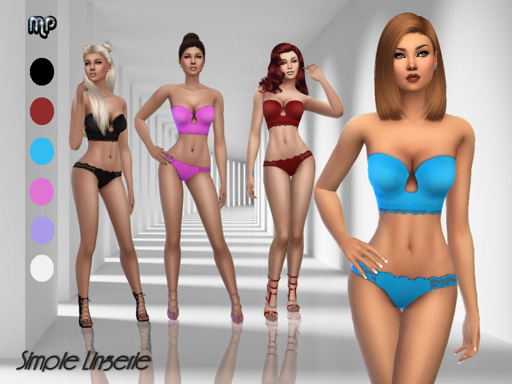 MP Simple Lingerie by MartyP