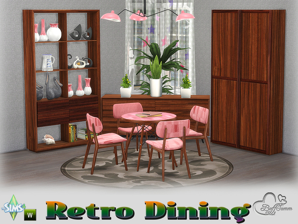 Retro Diningroom by BuffSumm