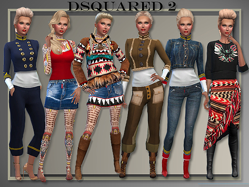 DSquared 2 Fall Winter for Teen - Elder Females by Judie