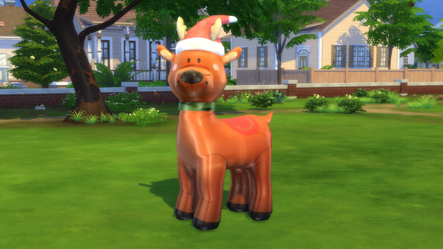 Inflatable Reindeer by Fresh Prince