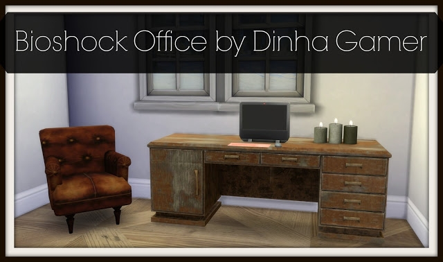 Bioshock Office Set by DinhaGamer