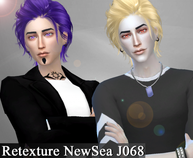 Retexture Hair NewSea J068 by Genius666