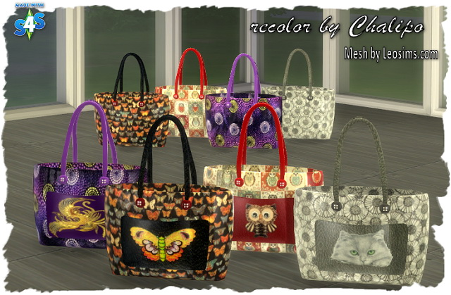 DECO SHOPPING BAG BY CHALIPO AT ALL 4 SIMS
