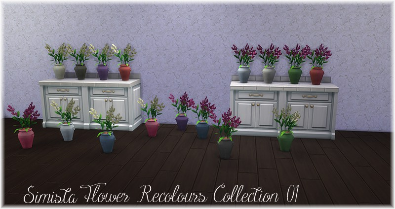 Flower Recolour Collection 01 by simista