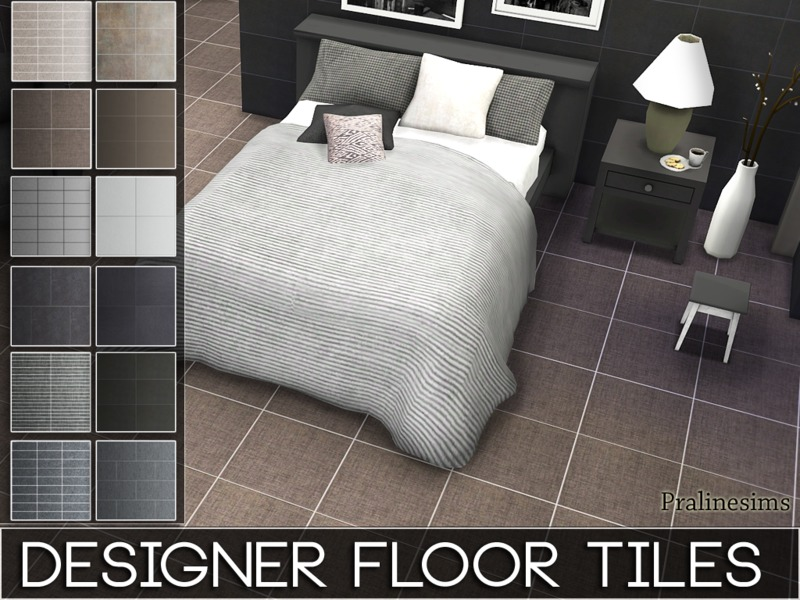 Designer Floor Tiles  BY Pralinesims