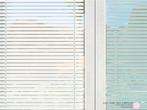 Custom Blinds Medium Set by DOT