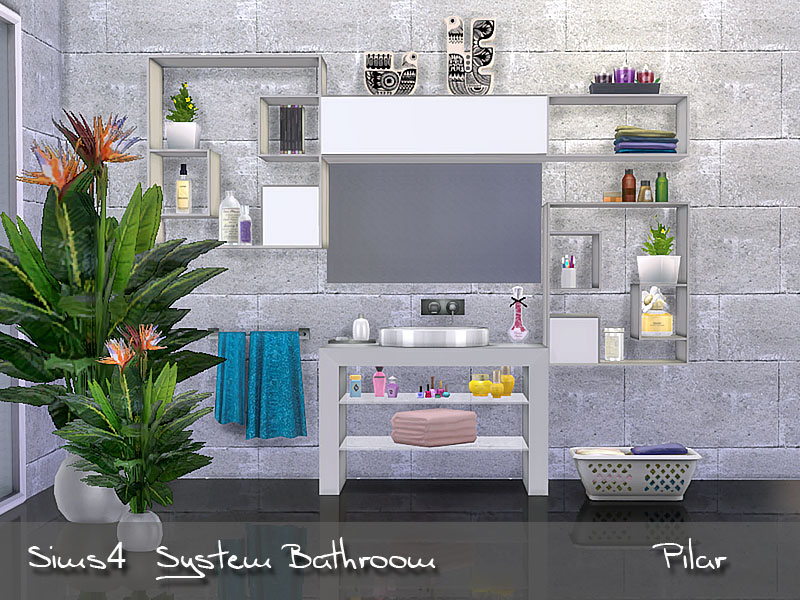 System Bathroom by Pilar