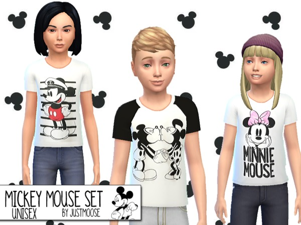 Mickey Mouse Set by JustMoose