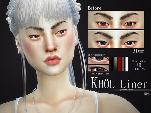 Khol Liner Kit  N25 by Pralinesims