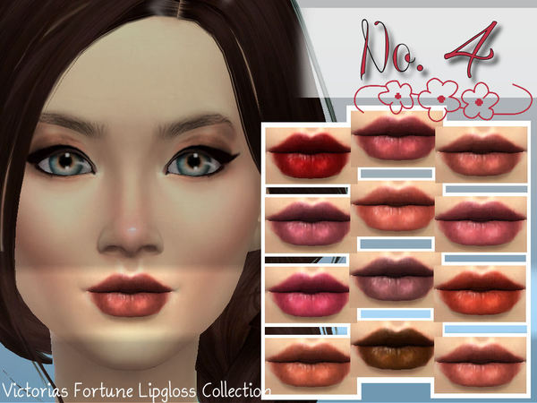 Victorias Fortune Lipgloss No. 4 by fortunecookie1