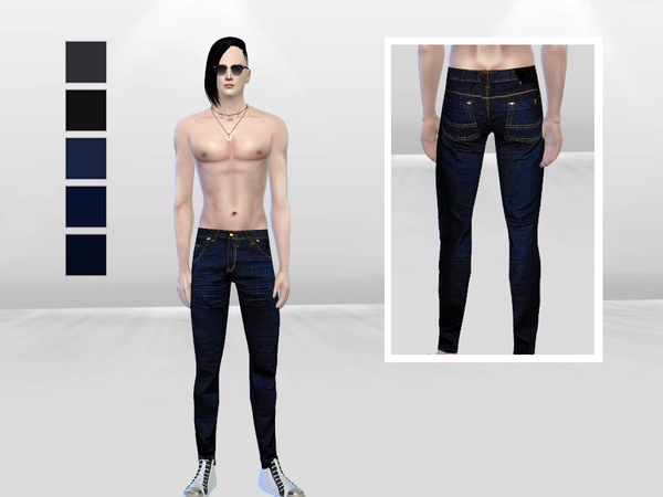 Bennett Casual Skinny Jeans by McLayneSims