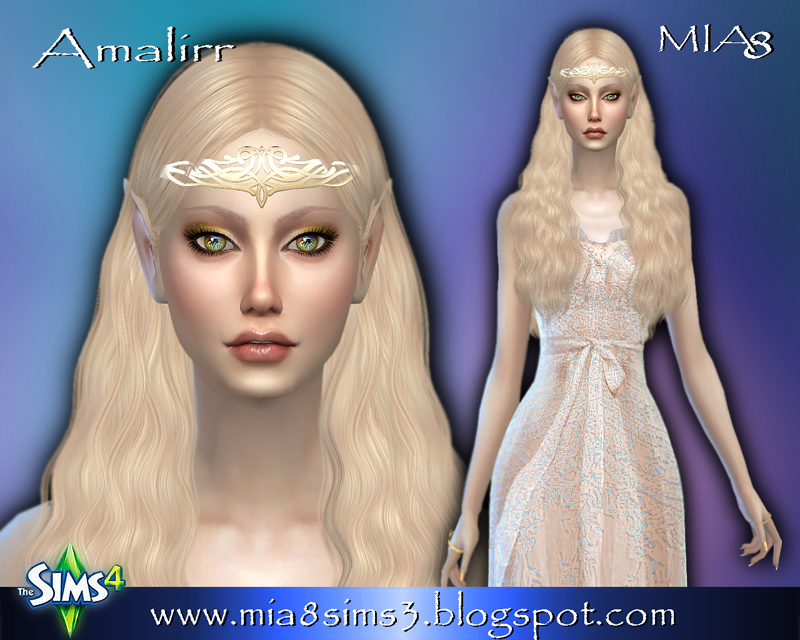 Amalirr (elf) by Mia8