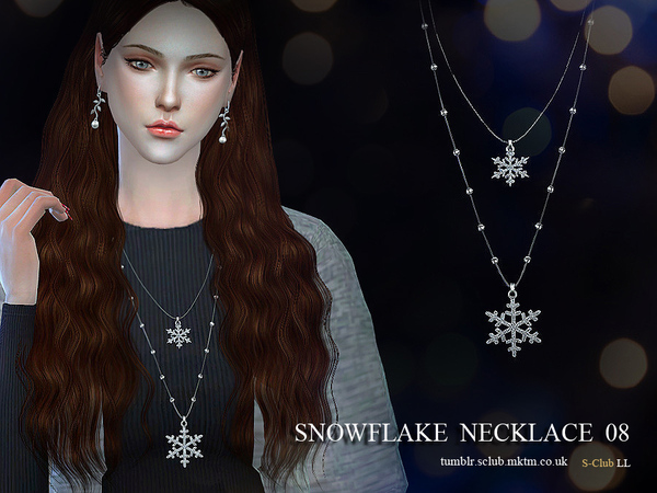 S-Club LL ts4 necklace N08