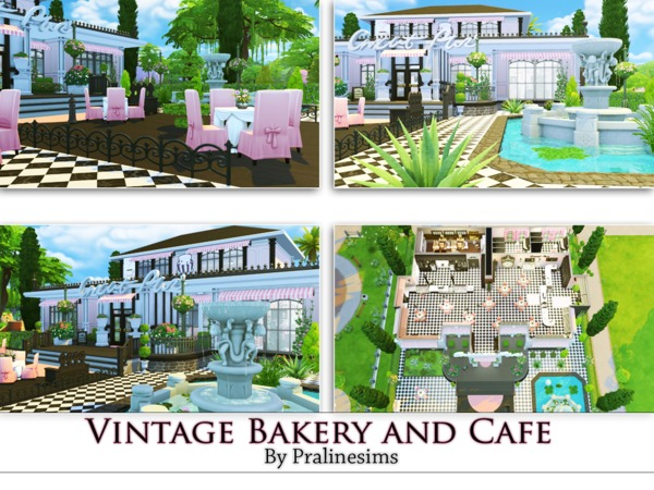 Vintage Bakery a. Cafe by Pralinesims