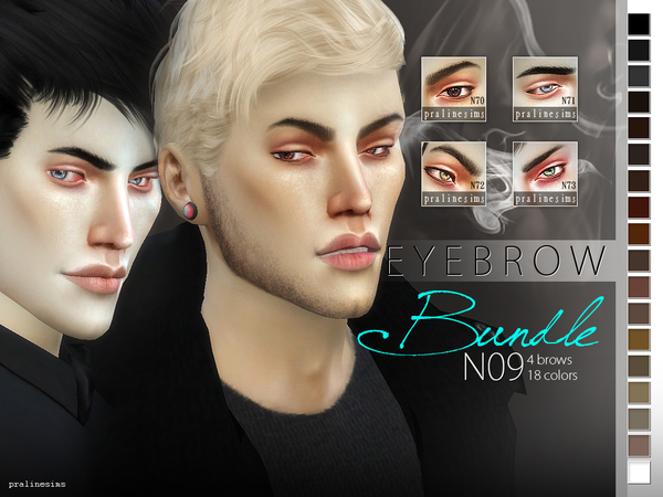Eyebrow Bundle N09 by Pralinesims
