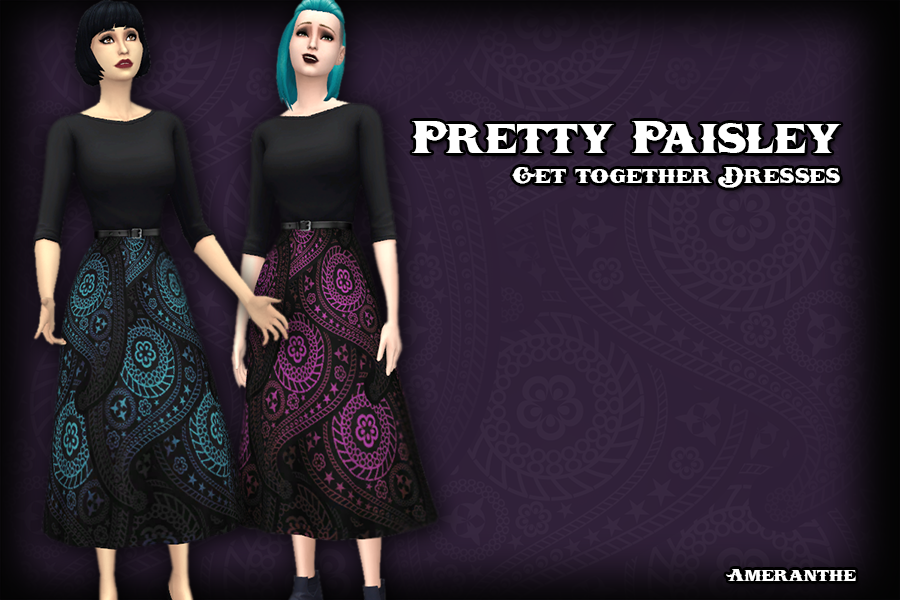Pretty Paisley Dresses by Ameranthe