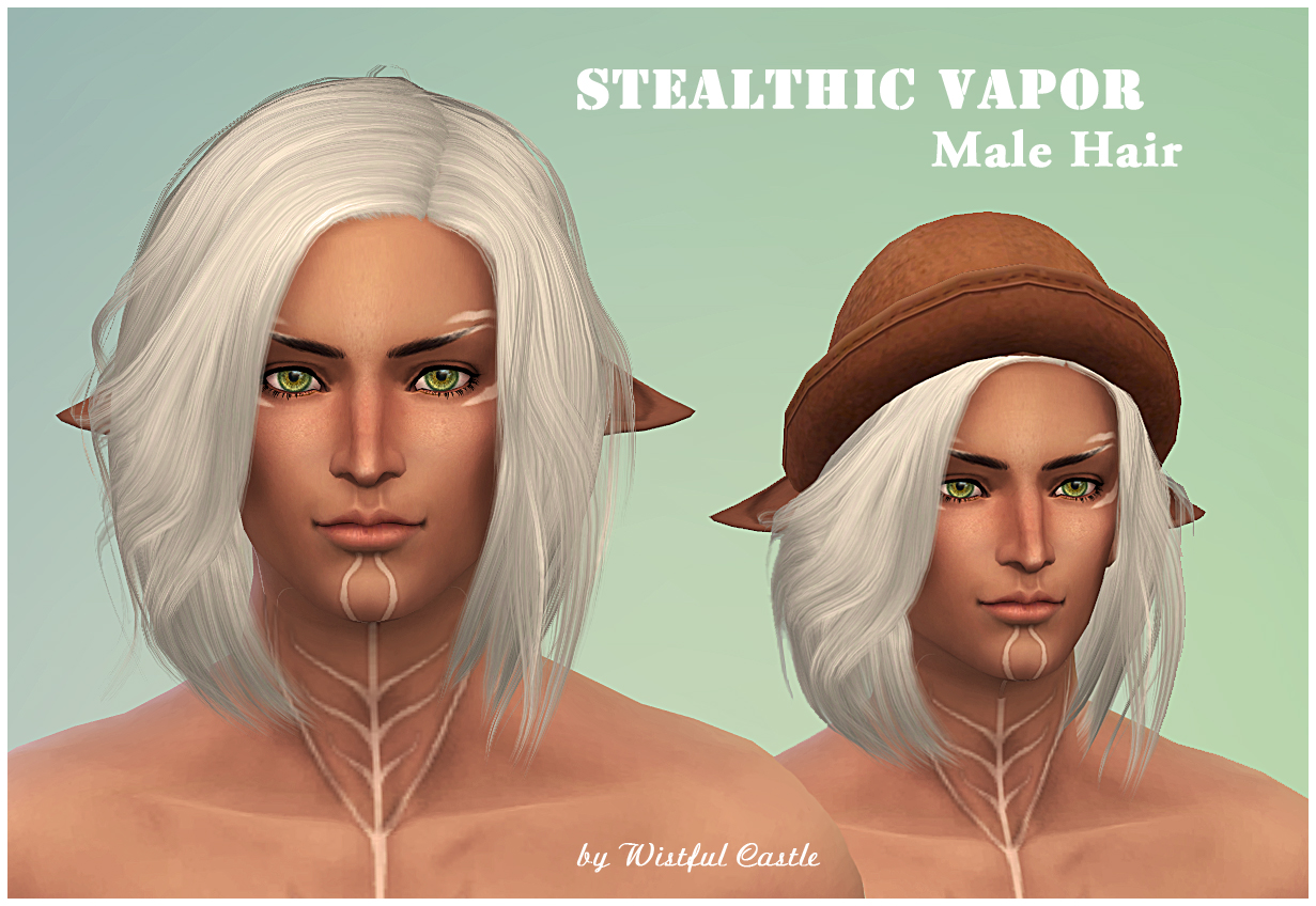 Stealthic Vapor (MaleHair) by WistfulCastle