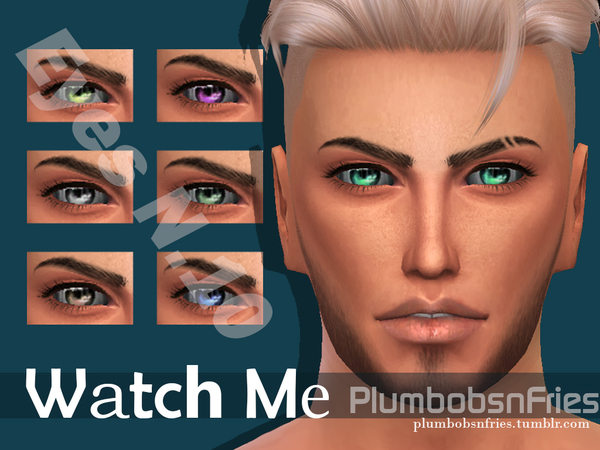 Watch Me  Eyes N.10 by Plumbobs n Fries