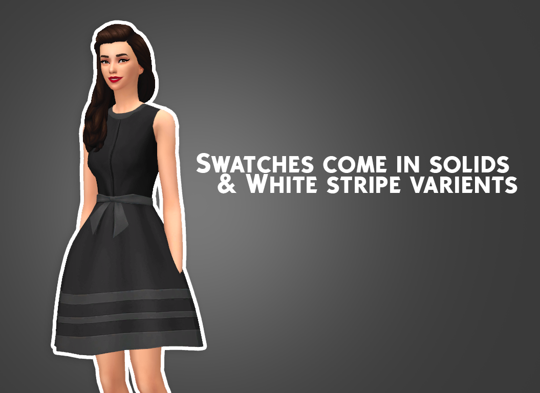 Belle Dress Converted for Adult Females by PrimadonnaSims