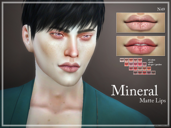 Mineral Matte Lips  N49 by Pralinesims