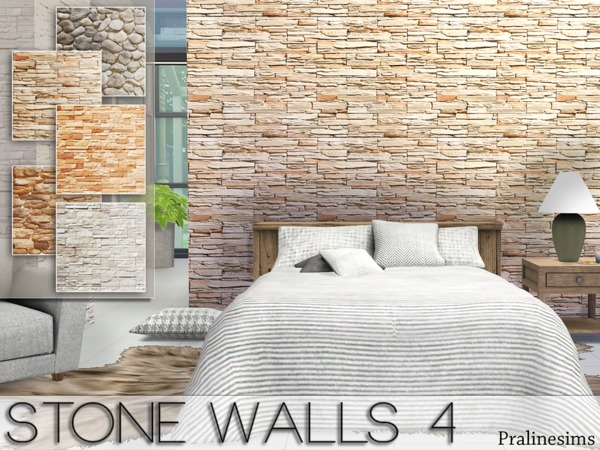 Stone Walls 4 by Pralinesims