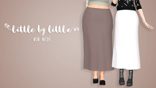 Little by Little Skirt by ParapluiesSims