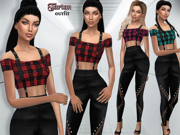 Tartan Outfit by Puresim