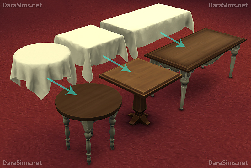 Tablecloths with Slots by Dara