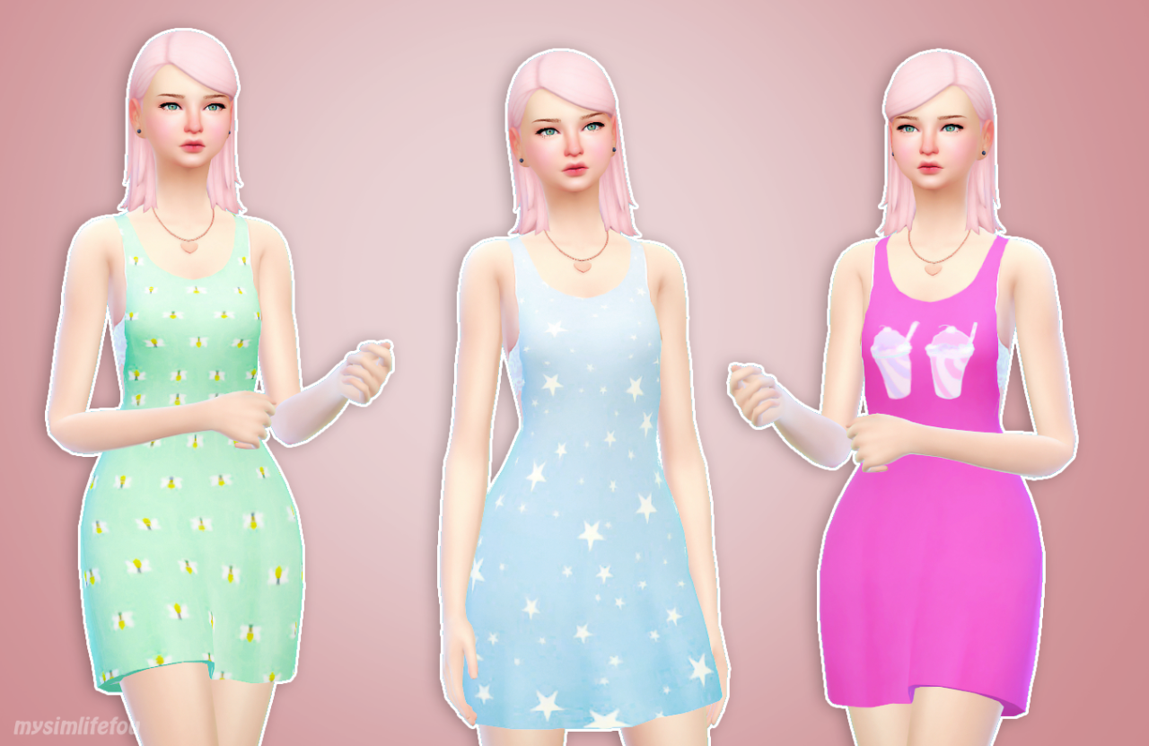 Beach Dresses by Mysimlifefou