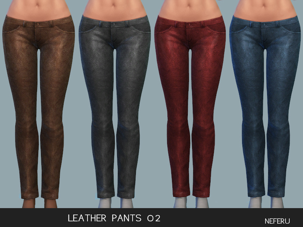 Leather Pants 02 by Neferu