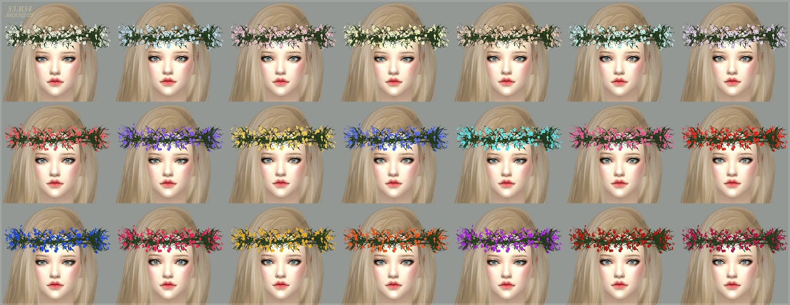 Flower Crowns for Males & Females by Marigold