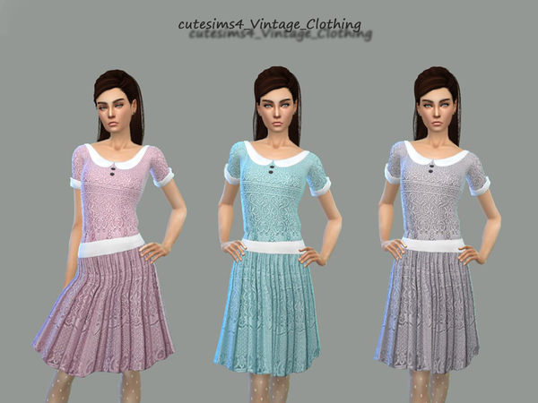 Vintage_Dress_Se by sweetsims4