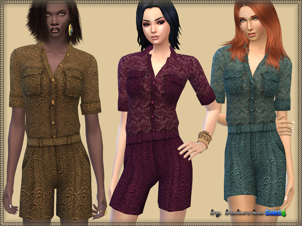 Lace Overalls by bukovka