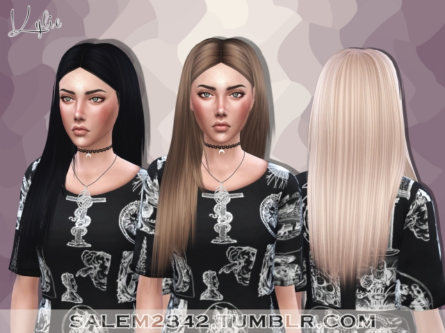 Kylie Hair by salem2342
