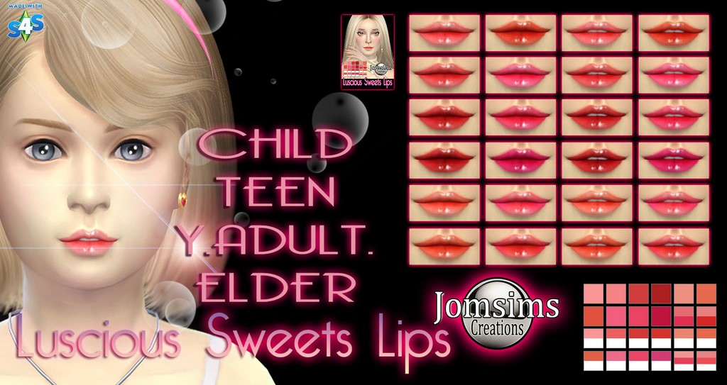 Luscious sweets lips by Jomsims