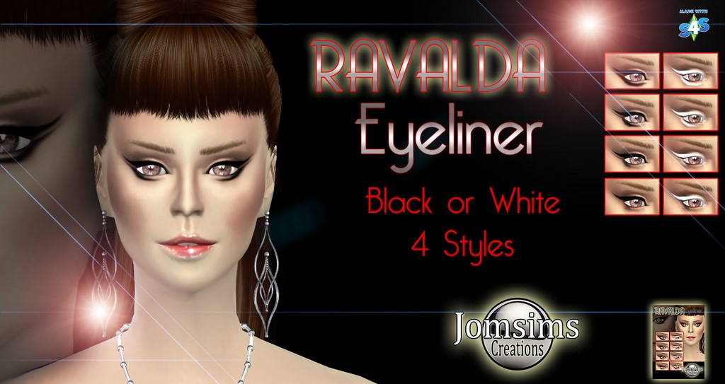Ravalda eyeliner by Jomsims