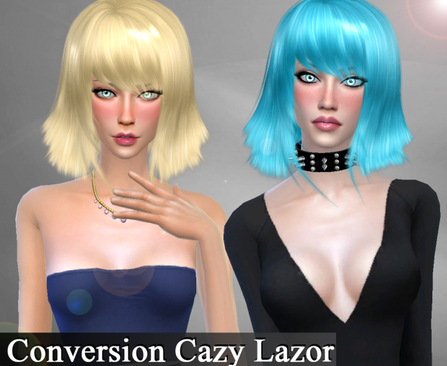 Conversion Hair Cazy Lazor by Genius666