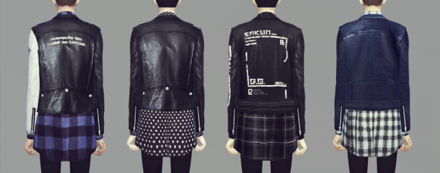 KK Rider Jacket 9set male by Ooobsooo