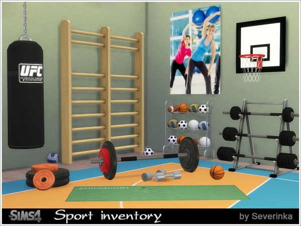 Sport inventory set by Severinka