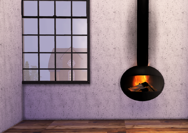 Wall Fireplace by ooh-la-la-simmer