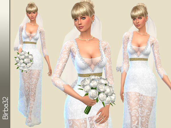 Sofia wedding dress V2 by Birba32