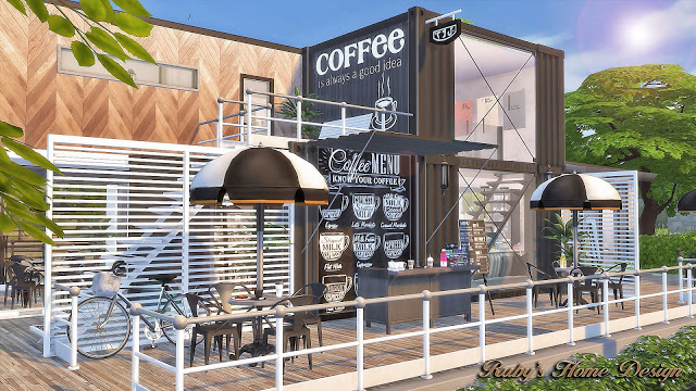 Container Coffee Shop by Ruby Red