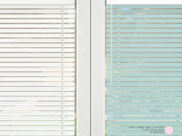 Custom Blinds Short Set by DOT