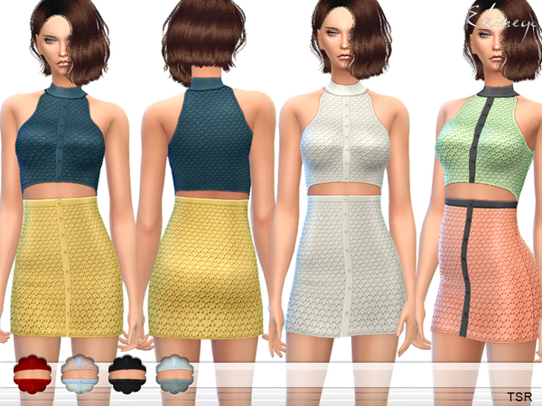 Cut Out Waist Dress by ekinege
