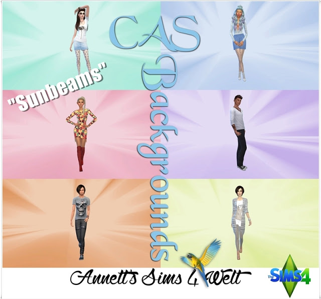 SUNBEAMS CAS BACKGROUNDS AT ANNETTS SIMS 4 WELT