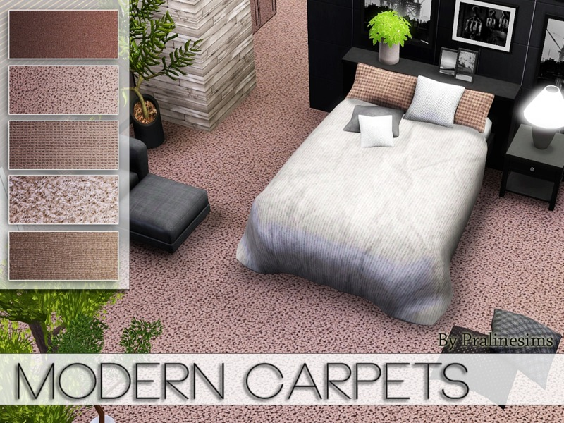 Modern Carpets(1) by Pralinesims