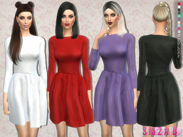 132 - Party dress by sims2fanbg